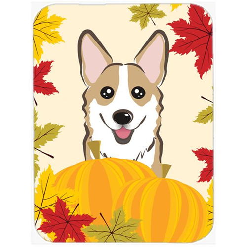 Carolines Treasures BB2059MP Sable Corgi Thanksgiving Mouse Pad Hot Pad or Trivet