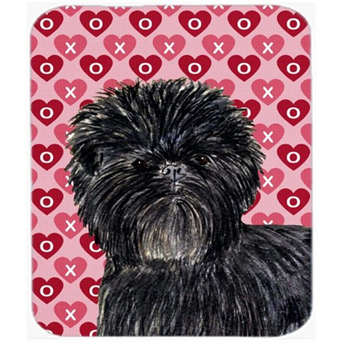 Carolines Treasures SS4511MP Affenpinscher Hearts Love And Valentines Day Mouse Pad Hot Pad Or Trivet