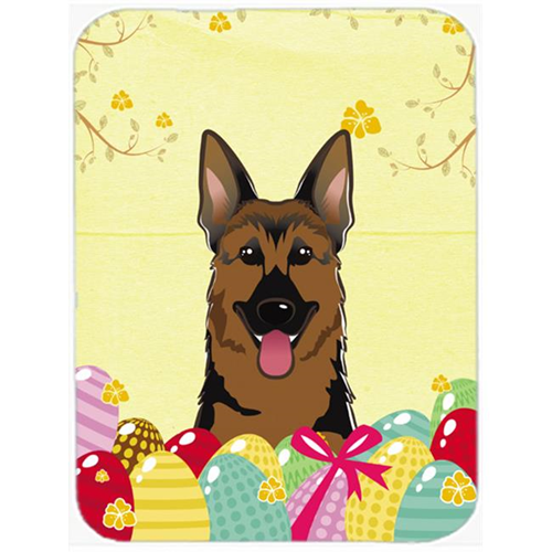 Carolines Treasures BB1893MP German Shepherd Easter Egg Hunt Mouse Pad Hot Pad or Trivet