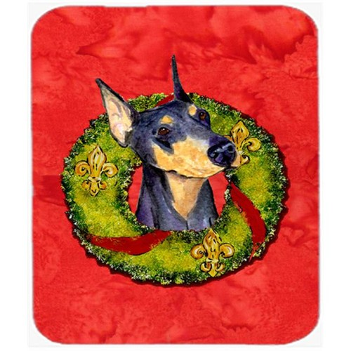 Carolines Treasures SS4184MP Doberman Mouse Pad Hot Pad or Trivet