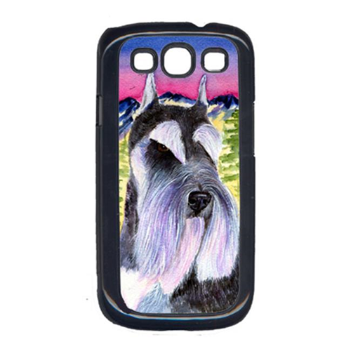 Carolines Treasures SS8340GALAXYSIII Schnauzer Cell Phone Cover Galaxy S111