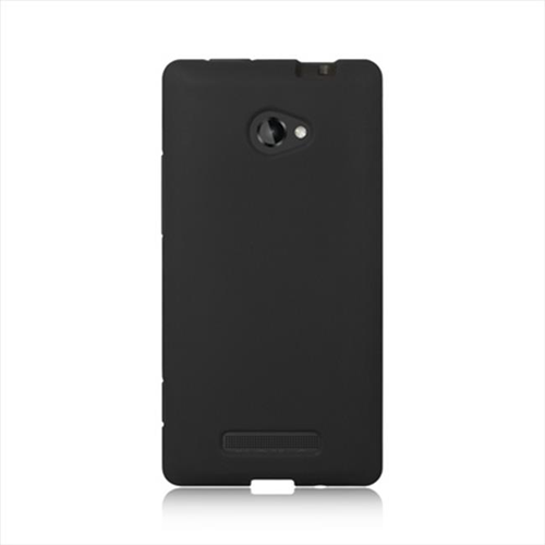 DreamWireless SCHTC8XBK-PR HTC One 8X Premium Skin Case - Black