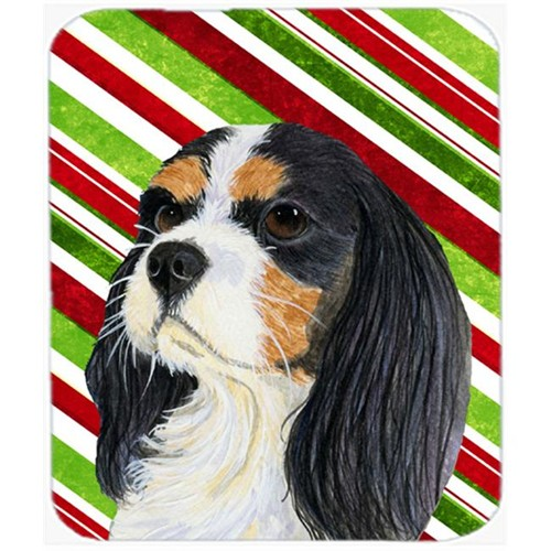 Carolines Treasures LH9234MP Cavalier Spaniel Candy Cane Holiday Christmas Mouse Pad Hot Pad Or Trivet
