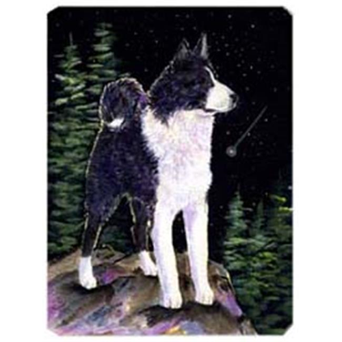 Carolines Treasures SS8483MP Starry Night Karelian Bear Dog Mouse Pad