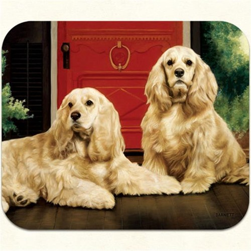 Fiddlers Elbow m21 Cocker Spaniel-Porch Mouse Pad Pack Of 2