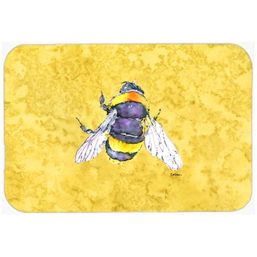 Carolines Treasures 8852MP Bee on Yellow Mouse Pad Hot Pad or Trivet
