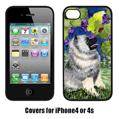 Carolines Treasures SS8249IP4 Keeshond Cell Phone cover IPhone 4
