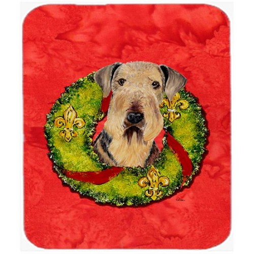 Carolines Treasures SC9103MP 9.5 x 8 in. Airedale Mouse Pad Hot Pad or Trivet