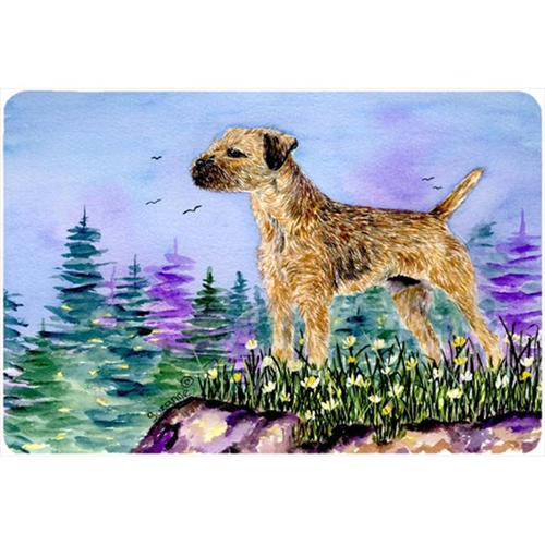 Carolines Treasures SS8664MP Border Terrier Mouse pad hot pad or trivet