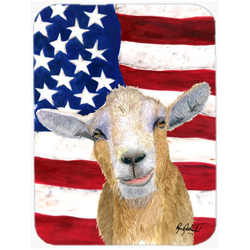 Carolines Treasures RDR3028MP 7.75 x 9.25 In. USA American Goat Mouse Pad Hot Pad or Trivet