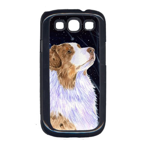 Carolines Treasures SS8375GALAXYSIII Starry Night Australian Shepherd Cell Phone Cover Galaxy S111