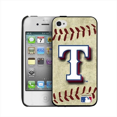 Pangea IP4-MLB-BB-TEX iPhone 4 & 4S Vintage Edition Texas Rangers Hard Cover Case