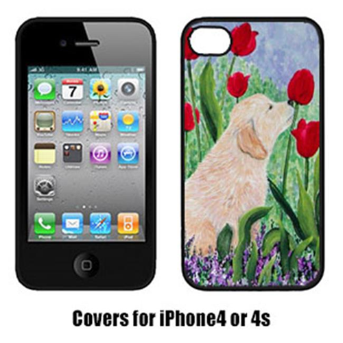 Carolines Treasures SS8610IP4 Golden Retriever Iphone4 Cover