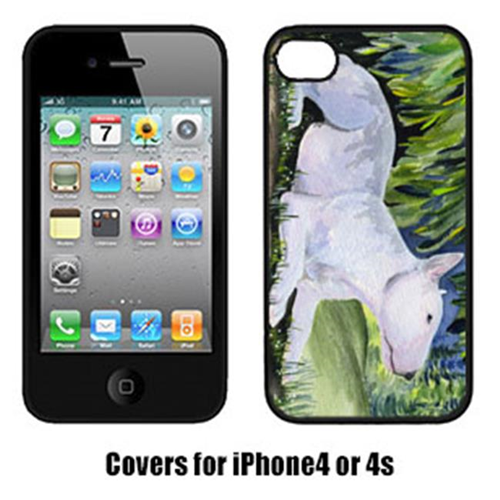 Carolines Treasures SS8266IP4 Bull Terrier Cell Phone cover IPhone 4