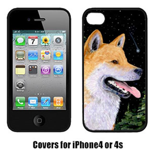 Carolines Treasures SS8598IP4 Shiba Inu Iphone4 Cover