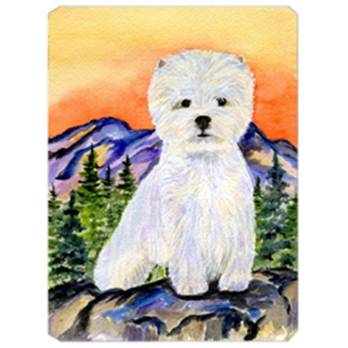 Carolines Treasures SS8159MP Westie Mouse Pad Hot Pad & Trivet