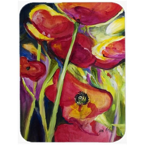 Carolines Treasures JMK1173MP Poppies Mouse Pad Hot Pad & Trivet