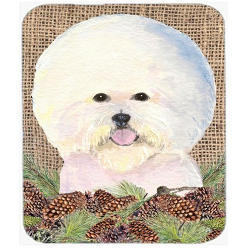 Carolines Treasures SS4106MP Bichon Frise Mouse Pad Hot Pad or Trivet