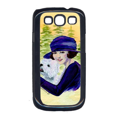 Carolines Treasures SS8532GALAXYSIII Woman Driving With Her Westie Galaxy S111 Cell Phone Cover