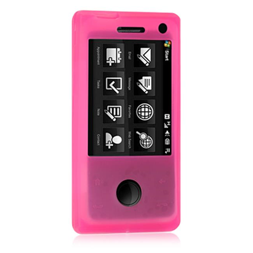 DreamWireless SCHTCFUHP HTC Fuze & Touch Pro Skin Case - Hot Pink
