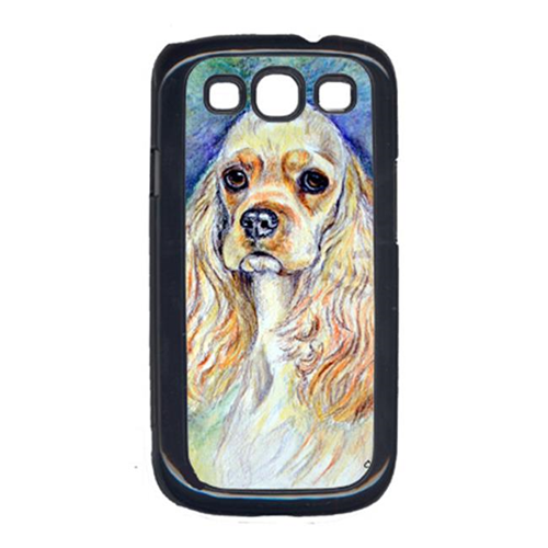 Carolines Treasures 7178GALAXYSIII Blonde Tan Cocker Spaniel Cell Phone Cover For Galaxy S111