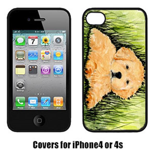 Carolines Treasures SS8476IP4 Golden Retriever Cell Phone Cover Iphone 4
