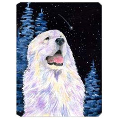 Carolines Treasures SS8466MP Starry Night Great Pyrenees Mouse Pad