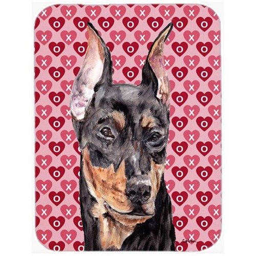 Carolines Treasures SC9716MP German Pinscher Hearts And Love Mouse Pad Hot Pad Or Trivet 7.75 x 9.25 In.