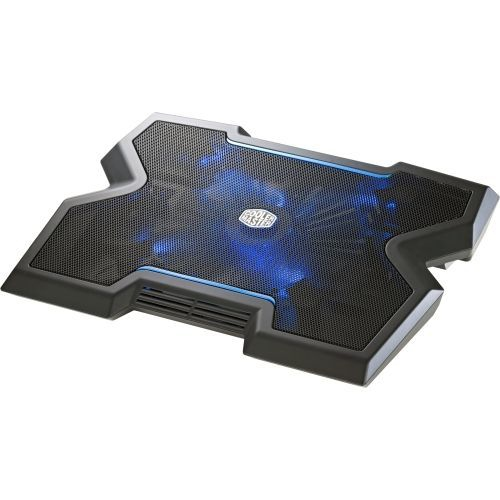 Cooler Master NotePal X3 - Gaming Laptop Cooling Pad with 200 mm Blue LED Fan (R9-NBC-NPX3-GP)