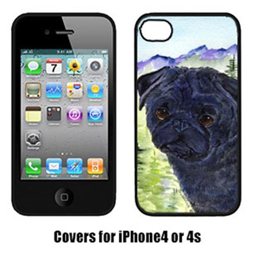 Carolines Treasures SS8420IP4 Pug Cell Phone Cover Iphone 4