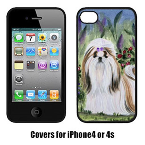 Carolines Treasures SS8034IP4 Shih Tzu Cell Phone Cover Iphone4