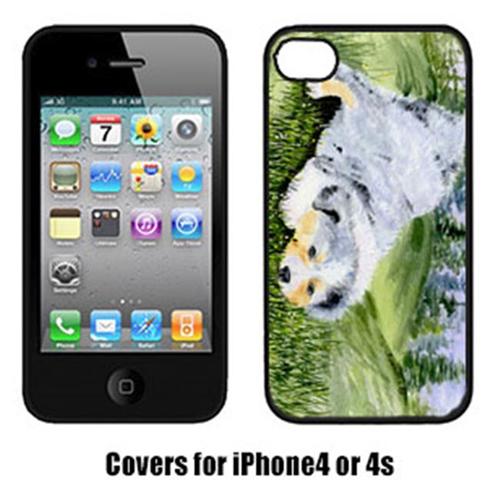 Carolines Treasures SS8015IP4 Australian Shepherd Iphone 4 Cover