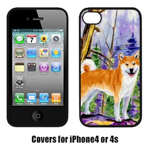 Carolines Treasures SS8629IP4 Shiba Inu Iphone4 Cover