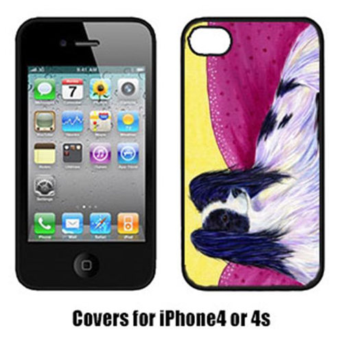 Carolines Treasures SS8416IP4 Papillon Cell Phone Cover Iphone4