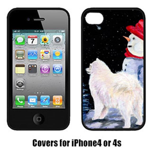 Carolines Treasures SS8572IP4 Samoyed Iphone4 Cover
