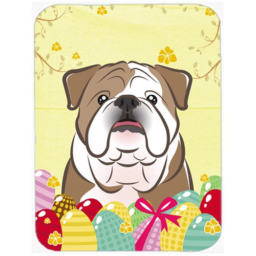 Carolines Treasures BB1901MP English Bulldog Easter Egg Hunt Mouse Pad Hot Pad or Trivet
