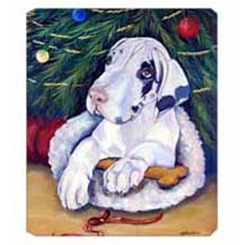 Carolines Treasures 7172MP 8 x 9.5 in. Christmas Tree with Great Dane Mouse Pad Hot Pad Or Trivet