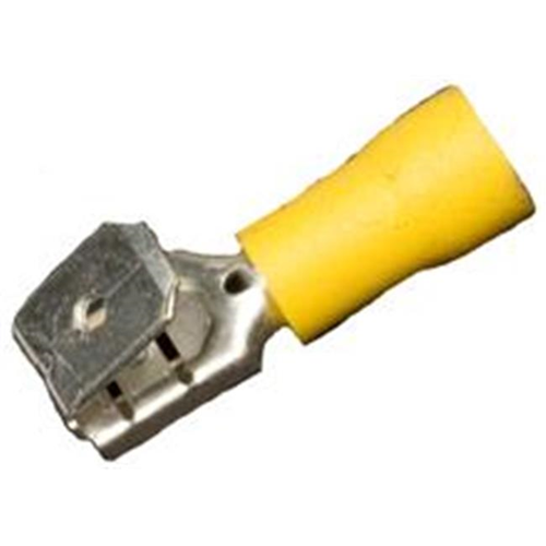 Morris Products 12016 Vinyl Insulated Piggy Back Disconnects - 12-10 Wire.03 2 X.250 Tab Pack Of 100