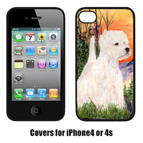 Carolines Treasures SS1013IP4 Westie Iphone 4 Cover