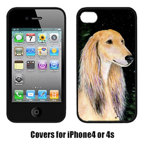 Carolines Treasures SS8485IP4 Starry Night Saluki Cell Phone Cover Iphone 4