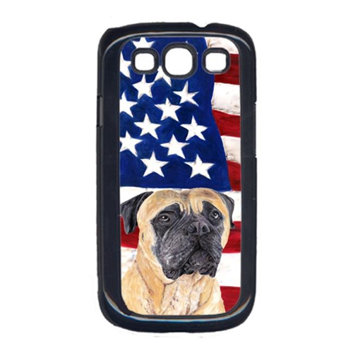 Carolines Treasures SC9031GALAXYS3 USA American Flag with Mastiff Cell Phone Cover GALAXY S111