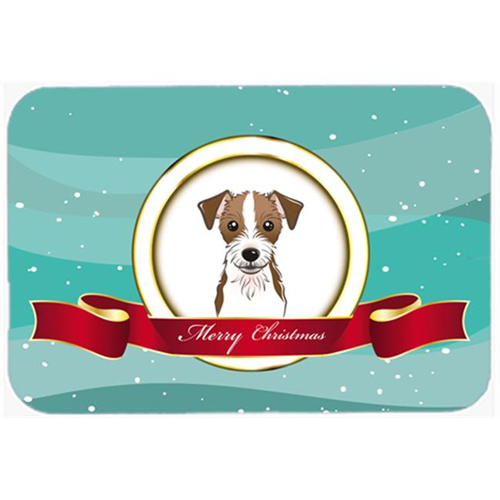 Carolines Treasures BB1512MP Jack Russell Terrier Merry Christmas Mouse Pad Hot Pad & Trivet