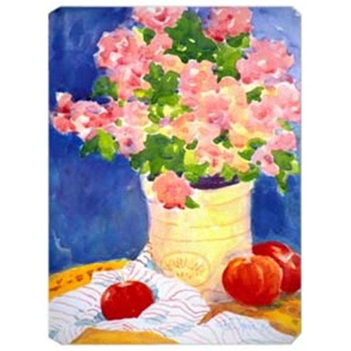 Carolines Treasures 6002MP 9.5 x 8 in. Pink Flowers Mouse Pad Hot Pad Or Trivet