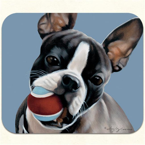 Fiddlers Elbow m406 Boston Terrier Mouse Pad Pack Of 2