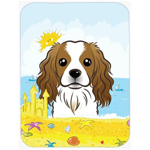 Carolines Treasures BB2092MP Cavalier Spaniel Summer Beach Mouse Pad Hot Pad or Trivet