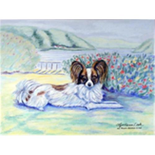 Carolines Treasures 7244MP 8 x 9.5 in. Papillon Mouse Pad Hot Pad or Trivet