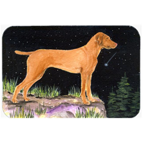 Carolines Treasures SS8478MP Starry Night Vizsla Mouse Pad