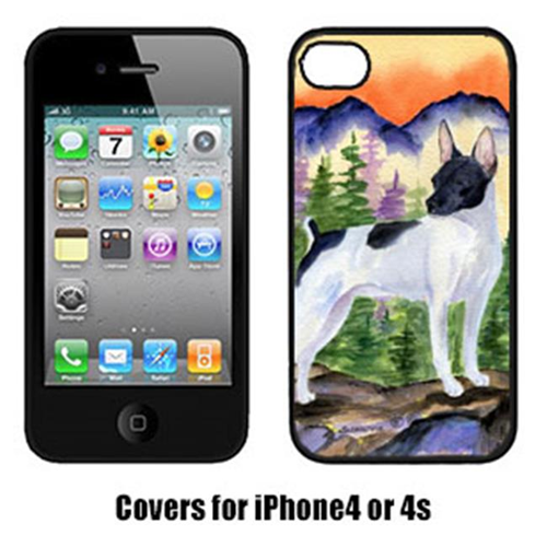 Carolines Treasures SS8224IP4 Rat Terrier Cell Phone cover IPhone 4