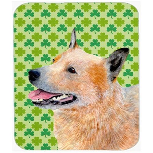 Carolines Treasures LH9182MP Australian Cattle Dog St. Patricks Day Shamrock Mouse Pad Hot Pad or Trivet