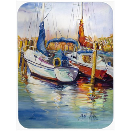 Carolines Treasures JMK1158MP Mississippi Sailboats Mouse Pad Hot Pad & Trivet
